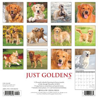 Goldens 2020 Wall Calendar