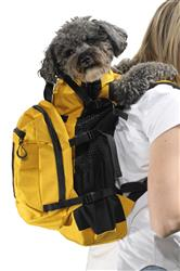 K9 SPORT SACK PLUS 2--YELLOW MUSTARD