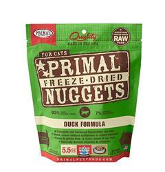 Primal Feline Freeze Dried Nuggets 5.5 oz - Duck Formula