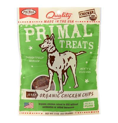 Primal Jerky Treats - Chips 3 oz.