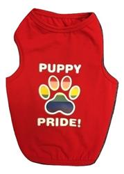 Puppy Pride Tank Red