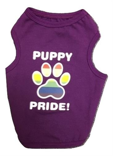 Puppy Pride Tank Purple