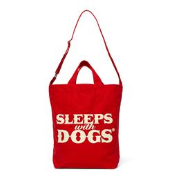 SLEEPS WITH DOGS® TOTE - RED