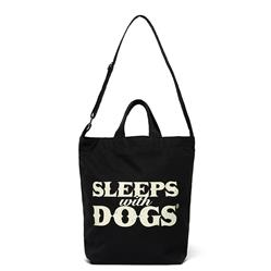 SLEEPS WITH DOGS® TOTE - BLACK