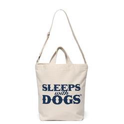 SLEEPS WITH DOGS® TOTE - NATURAL