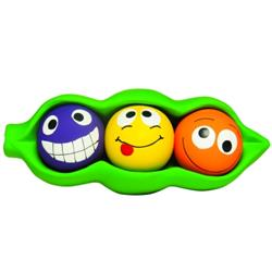 MULTIPET LATEX THREE PEAS IN A POD DOG TOY