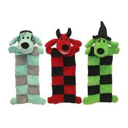 """""""Loofa® Halloween Squeaker Mat Assortment  (Devil, Witch, Monster) Size: 12"""""""