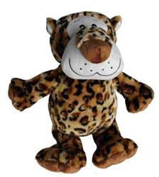 """Extra Large Plush Dog Toy - Leopard - 15"""" Size"""