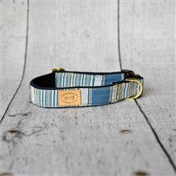"1"" French Stripe Collars and Leads"