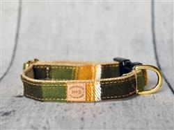 Woodsy Flannel Collars and Leads