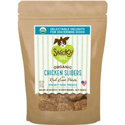 Snicky Snacks USDA Certified Organic Chicken Sliders with Real Sweet Potato, 5.5oz