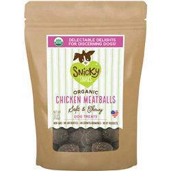 Snicky Snacks USDA Certified Organic Chicken Meatball, 5.5oz