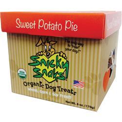 Snicky Snacks USDA Certified Organic Sweet Potato Pie Treat, 12lb Bulk Box - (one 12lb REFILL Box)