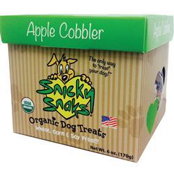 Snicky Snacks USDA Certified Organic Apple Cobbler Treat, 12lb Bulk Box - (one 12lb REFILL Box)