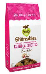 Snicky Snaks Shareables™ Granola Clusters, Coconut and Cranberry, wt 6oz