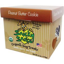 Snicky Snacks USDA Certified Organic Peanut Butter Cookie Treat, 12lb Bulk Box (one 12lb REFILL Box)