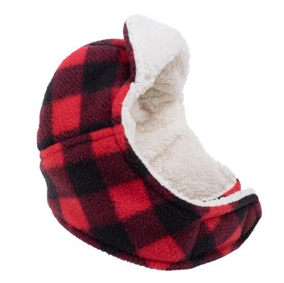 Aviator Hat Red Buffalo Fleece