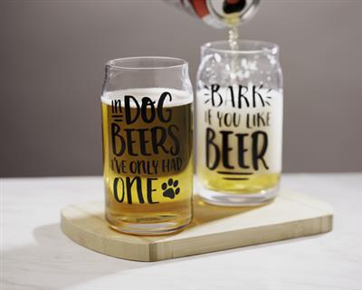 Pearhead Dog Lover's Glass Set