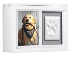 Pearhead Pet Memory Box, White