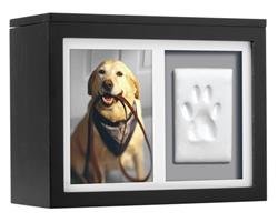 Pearhead Pet Memory Box, Black