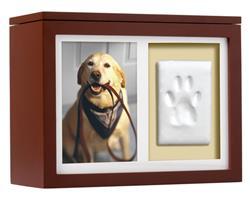 Pearhead Pet Memory Box, Espresso