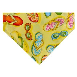 Summer Fun Dog Bandana - Over the Collar Style in 5 Sizes |  BUY 5 GET 6th FREE