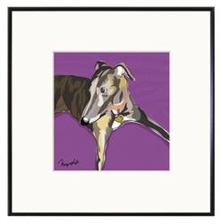 Framed Print: Greyhound