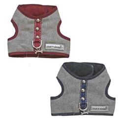 Cloak & Dawggie Flannel Teacup Vest Harness 6960 series