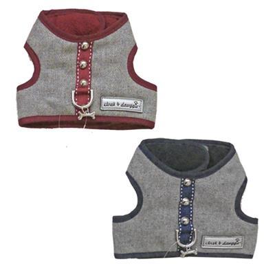 Cloak & Dawggie Flannel Teacup Vest Harness 6960 series