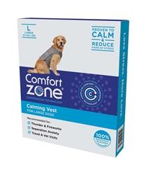 COMFORT ZONE CALMING DOG VEST LARGE