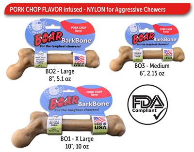 Boar BarkBone Stick - Pork Chop Flavor
