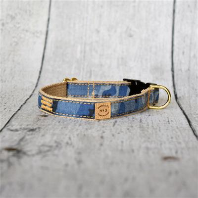 Denim Camo Collars and Leads