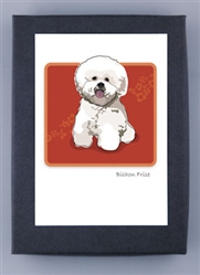 Bichon Frise - Grrreen Boxed Note Cards