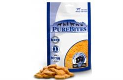 PUREBITES 100% USDA FREEZE DRIED CHEDDAR CHEESE DOG TREATS 2 OZ