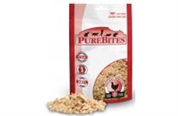PUREBITES 100% USDA FREEZE DRIED CHICKEN BREAST CAT TREATS .6OZ