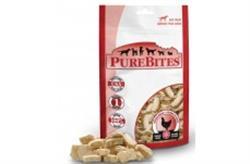 PUREBITES 100% USDA FREEZE DRIED CHICKEN BREAST DOG TREATS 11OZ