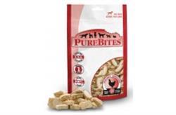 PUREBITES 100% USDA FREEZE DRIED CHICKEN BREAST DOG TREATS 3OZ