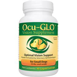 Ocu-GLO for SMALL Dogs (90 Gelcaps) - Optimal Vision Support