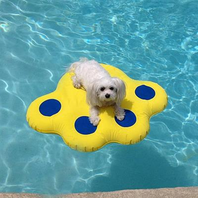 "Paws Aboard Doggy Lazy Raft – Small (30"" x 23"")"