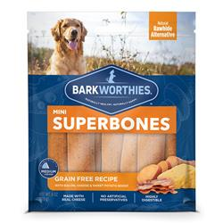 Bacon, Cheese, Sweet Potato Grain-Free Recipe Superbones by Barkworthies
