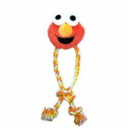 Elmo Rope Dog Toy