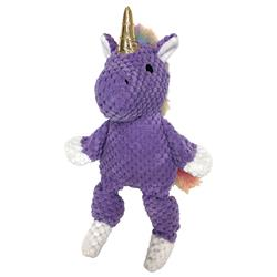 "Rainbow Bright Knotted Toys (10"" and 15"") - Purple Unicorn"