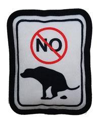 No Pooping Plush Dog Toy