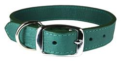 Jade Luxe Leather Dog Collar / Lead
