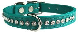 Jade Signature Leather Crystal Collar