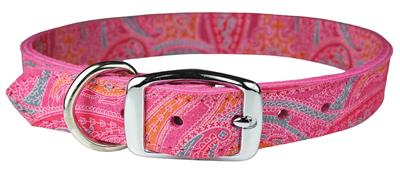 Pink Paisley Leather Collection