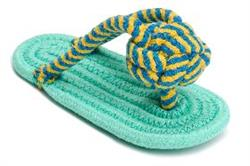 "Flip Flop 9"" One Size Rope Toy"