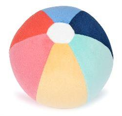 Beach Ball Plush Dog Squeak Toy