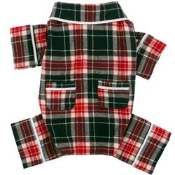Blue Plaid Flannel Pajamas