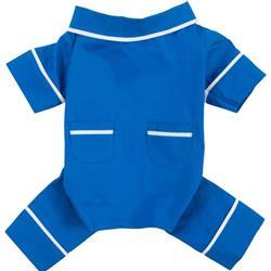 Blue Poplin Pajamas